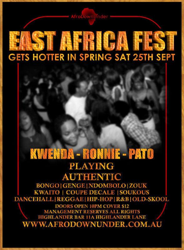 East Africa Fest 25th Sept 2010