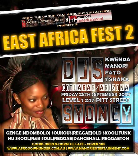 East Africa Fest 2 | Sat 28th September 2007