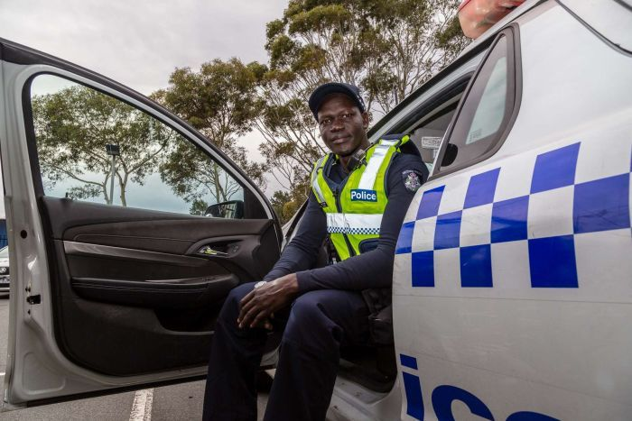 Changing face of VIC Police; embracing new recruits from Sudan, Congo