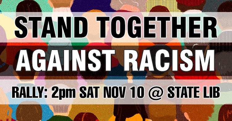 Rally: Stand Together Against Racism